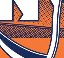 Deadly NY Hockey Sticker