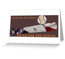 Baseball Bat Greeting Card