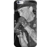 Stephen Pearcy from RATT B&W iPhone Case/Skin
