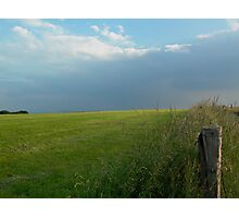 The open countryside Photographic Print