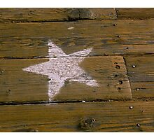 Star of the Boardwalk Photographic Print