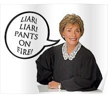 Liar!Liar! Pants on Fire! Poster