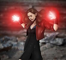 Scarlet Witch by Tazpire