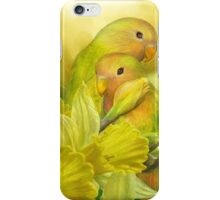 Love Among The Daffodils iPhone Case/Skin