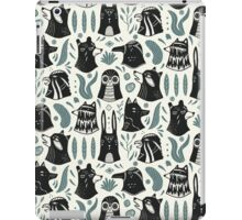 Plants & Animals Pattern iPad Case/Skin