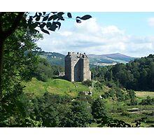 Neidpath Castle,Peebles. Scotland Photographic Print