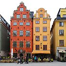 Stockholm. Old Houses in Gamla Stan by Igor Shrayer