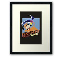Super Smash Bros Duck Hunt Framed Print