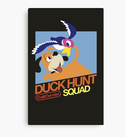 Super Smash Bros Duck Hunt Canvas Print