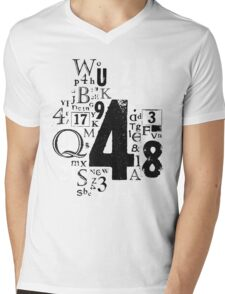 Type T Mens V-Neck T-Shirt