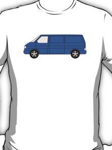 VW T4 Van T Shirt Blue T-Shirt