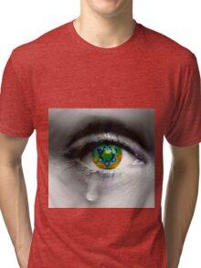 Israeleye Tri-blend T-Shirt