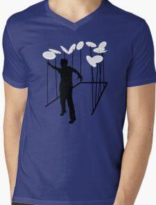Plate Spinning Mens V-Neck T-Shirt