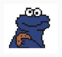 Pixel Cookie Monster Kids Clothes