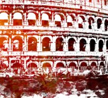 Rome, Colosseum skyline Sticker