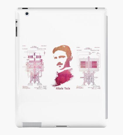 Nikola Tesla - Apparatus for aerial transportation iPad Case/Skin