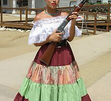 Señorita On Guard by heatherfriedman