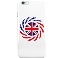 British American Multinational Patriot Flag Series iPhone Case/Skin