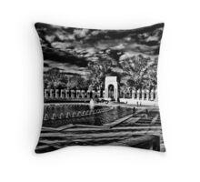 World War II Memorial Throw Pillow