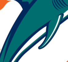 Miami Football Sticker