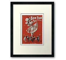 Bon-Ton Burlesquers - 365 days Framed Print