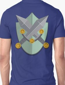 Shield and Swords (green) Unisex T-Shirt