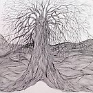 Line Tree by kate conway