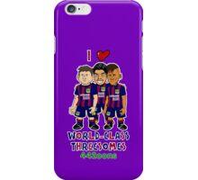 Bancelona - World Class Threesome iPhone Case/Skin
