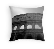The Flavian Amphitheatre (Colosseum) Throw Pillow