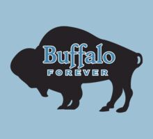 Buffalo Forever in black by PStyles