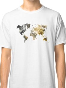 World Map Sandy world Classic T-Shirt