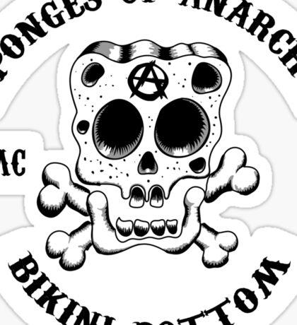 Sponges Of Anarchy Sticker