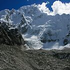 Nuptse Ice Fall by Richard Heath