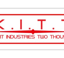 Knight Industries Two Thousand Sticker