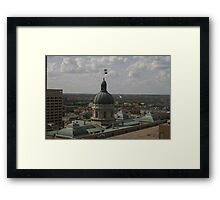 The Statehouse Framed Print