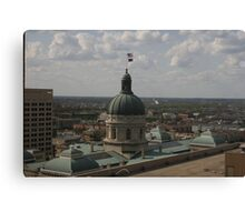 The Statehouse Canvas Print