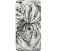 Drawn To See iPhone Case/Skin