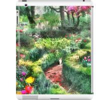 Tiptoe Through the Tulips iPad Case/Skin
