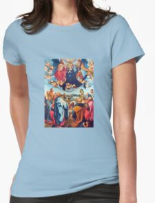 Queen of Heaven Womens Fitted T-Shirt