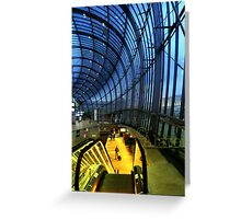Strasbourg Centrale Greeting Card