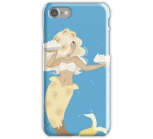 Dessert mermaid: Banana Cream Pie iPhone Case/Skin