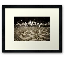 crystalline as in a dream. Framed Print