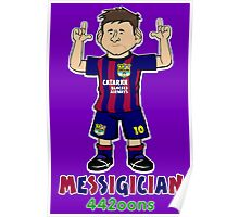 Lionel Messigician Poster