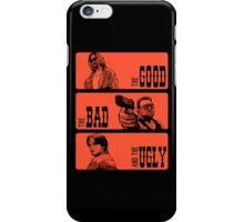 The Dude, The Bad And The Ugly iPhone Case/Skin