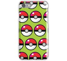 pokeball4 iPhone Case/Skin