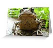 Charming In Disguise Greeting Card