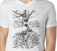 A Seed of Faith Mens V-Neck T-Shirt