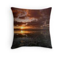 Dunnet Beach, Caithness, Scotland Throw Pillow