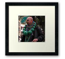 St Patricks Day Celebrations Framed Print