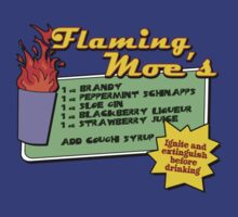 Flaming Moe's by drtees